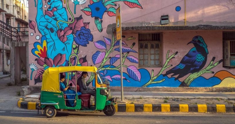 Exploring the Unique Graffiti in Delhi Will Surely Make Your Day