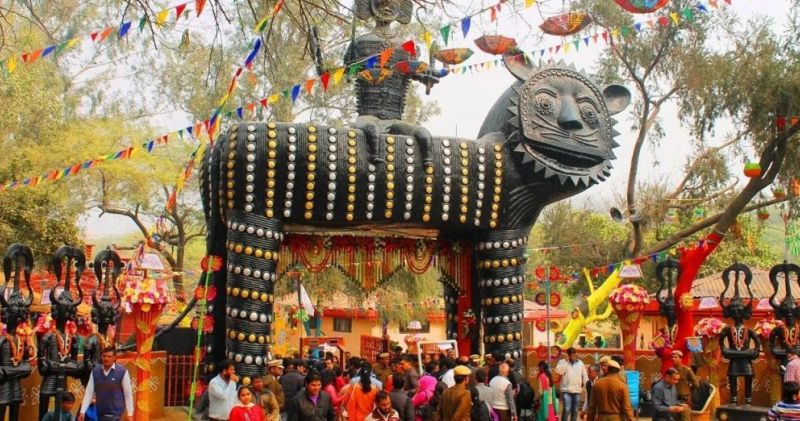 Surajkund Craft Mela in Faridabad