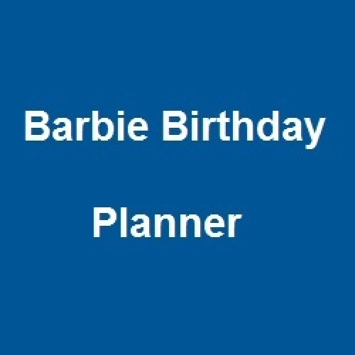 Barbie Birthday Planner Delhi